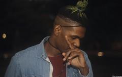 _MG_7225 (V-Way - Mr. J Photography) Tags: 600d canon city dc park parkshoot nw rebelt3i portraits states eastcoast selfportrait vway hairbun bun greenhair fade look style flash nightshot pose 50mm macro bokeh thepose