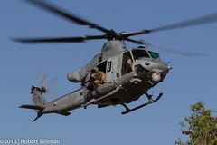 UH-1 Venom-3095 (rob-the-org) Tags: wti117 yumaaz usmarinecorps uh1 venom utility helicopter f16 180mm 1160sec iso100 cropped noflash
