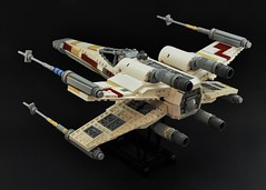 T-65 X-wing: V2 (2) (Inthert) Tags: lego t65 fighter sfoils x wing star wars ship moc rebel rogue squadron astromech incom red5 r2d2 luke skywalker