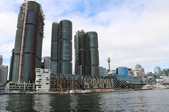 Darling Harbour (lukedrich_photography) Tags: australia oz commonwealth        newsouthwales nsw canon t6i canont6i history culture sydney       metro city darling harbour cbd centralbusinessdistrict longcove building architecture skyrise tower boat water