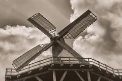 Old Times (Michael Eickelmann) Tags: old times alte zeiten windmill windmhle kokermhle bad rothenfelde saline graduation gradierwerk september photo foto panasonic lumix fz 200