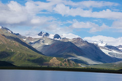 These mountains that you are carrying, you were only supposed to climb.  ~Najwa Zebian (Michelle Myhill) Tags: alaska mountains nature scenic landscape blue sky