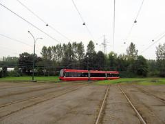 """Pesa """"Twist-Step"""", Tramwaje lskie (transport131) Tags: tram tramwaj t bdzin kzk gop pesa 2012n twiststep"""