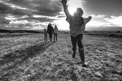 October's Here! 1/31 (rmrayner) Tags: moor devon octoberchallenge 131 blackandwhite action walking jumping sunshine landscape clouds aphotoadayforamonth 4052 52weeksthe2016edition