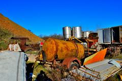 accrocchio (riccardo nassisi) Tags: truck camion abbandonato abandoned rust rusty relitto rottame ruggine ruins scrap scrapyard epave cava piacenza san nicol