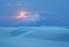 Welcome, Night Light (Appalachian Hiker) Tags: moon fullmoon whitesands evening night rising desert newmexico