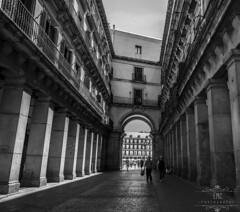 Calle Plaza Mayor (Elisabeth Martnez Cnovas) Tags: madrid parquedelretiro elretiro plazamayor puertadelsol palacio de cristal jardines puerta alcala