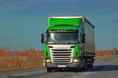 Scania G400  С 635 СК 116 (RUS) (zauralec) Tags: kurganoblast trackp254irtysh transport company leader transrf лидертранс тф курган иртыш scania g400 с 635 ск 116 rus