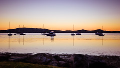 Sunrise over the bay (Merrillie) Tags: daybreak landscape sailboats nature australia tascott outdoor nswcentralcoast newsouthwales koolewong sun brisbanewater water scenery centralcoastnsw marina dawn photography nsw outdoors waterscape boats centralcoast sunrise bay