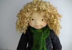 """LUCY  20"""" doll (Dearlittledoll) Tags: waldorf waldorfdoll dearlittledoll steinerdoll naturalfiberdoll naturaldoll naturaltoy natural organicdoll puppet"""