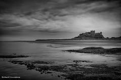 Northumbria - June 2014_3.jpg (r_lizzimore) Tags: coastal sea blackwhite seascape bamburghcastle coast northumbria rocks