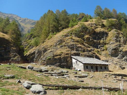 hut at ciabot del pra