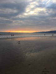(RaineGray) Tags: pacificcoast baywatch beach dusk sunset california santamonicabeach santamonicapier