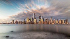 Fall Sunset (ericles1976) Tags: new york fall longexposure canon manhattan jersey clouds city cityscape landscape outdoors sunset sunrise art architecture