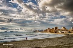 Nubes de otoo en La Manga (Jos Mara Escolano) Tags: clouds nubes sea mar la manga murcia espaa spain mediterrneo mediterranean hdr