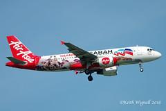 9M-AHT  A320 AXM (Keith Wignall) Tags: sin a320 axm special
