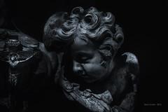 angelo (cuvato rocco) Tags: angeli scultura rinascimentale roma chiese bw viraggio rocco cuvato