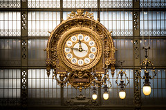 Dwell On The Past (alexandres3) Tags: clock gold paris muse dorsay time lights
