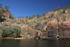 Nitmiluk second gorge (cathm2) Tags: austraila nt katherine nitmiluk nationalpark gorge water cliffs rocks travel
