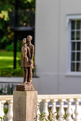 'Standing in the Wind' (CAscotPhotography) Tags: cascotphotography sculpture art statue garden coworthparkhotel ascot people nikon d7100 dof depthoffield