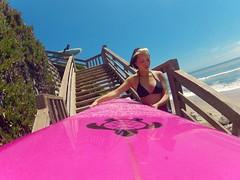 5/1/2013 Surfing (BOMBTWINZ) Tags: ca santacruz woody wave surfing surfboard honu oneill greenturtle surfergirl 38thave junod gopro micheljunod bo