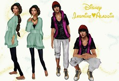 Jasmine&Aladdin DisneyBound week8 (Sery Darkrose) Tags: fashion blog dream style blogger disney alb aladdin glance glamorize ricielli