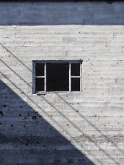 fonster (Blind Hen  Blind Hna) Tags: shadow window concrete diagonal gotland skugga betong fnster industri
