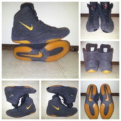 OG reissue inflicts 13 (sonjamski) Tags: blue red black nike 12 13 oes jordans inflicts