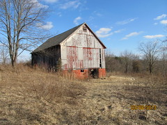 Barn I bought on property in Ohio (larryunderwood) Tags: barn barnconversion bankbarn