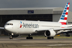 American Airlines Boeing 767-300 N366AN (LHR Local) Tags: london plane airplane airport heathrow aircraft aviation jet aeroplane american boeing americanairlines spotting lhr 767 heathrowairport lineup planespotting boeing767 767300 egll canon6d philbroad n366an