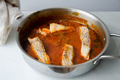 spicy tunisian fish stew (chreime) (sassyradish) Tags: fish cooking stew kosher sassyradish glutenfree