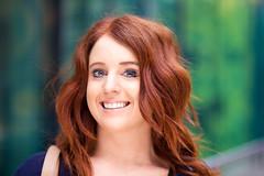 Stranger #21: Lucinda (bomvu) Tags: smile streetportrait redhead bomvu lucinda nikond600 100strangers colinstrain nikon85mm18g