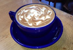 IMG_8189.JPG zocalo caf san leandro ca (B  I  R  D) Tags: coffee double cap swirl capucino