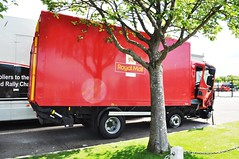 Postman Pat should be more careful -5. (Raymondo166) Tags: new back force view mail crash no centre side victim under royal some front repair impact damage strong lf van pushed 13 reg carlisle tremendous daf axle bodywork dhk hinds plated kingstown bendalls po13