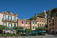 Portofino, Italy (Alan-S2011) Tags: portofino italy architecture boats celebrityeclipse d7100 europe flowers harbour nikon marina quays sea seascape trees water waterfront yachts yacht southeastofgenoacity fishingvillage italianriviera coastline
