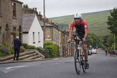 Ironman UK in Belmont village. (Vodka Burner) Tags: cycling belmont lancashire triathlon cyclerace ironmanuk ironmanukbolton highstreetbelmont 2016ironmanukbolton 2016ironmanuk