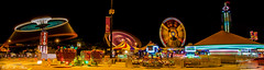 Funfair. How many light trails can you see? (PerfumeG2011 (off & on)) Tags: longexposure lightpainting color lights nikon colorful colours nightshot amusementpark rides lighttrails funfair lighttrail 2016 lightpaint montralqubeccanada d7000 nikond7000 carrefourangrignon multiplelighttrails