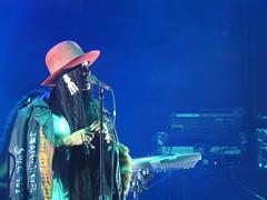 (kristen mckeithan) Tags: eaux claires 2016 eauxclaireswi music festival eau claire wisconsin august nightfall night dark erykah badu hat 13th