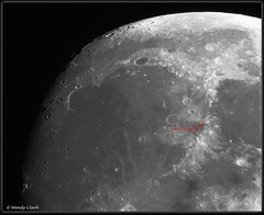 Mare Imbrium, Apollo 15 site (twinklespinalot) Tags: mareimbrium apollo apollo15 skywatcher120ed grasshopper3 moon moonwatch lunar astronomy astrophotography