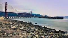 Golden Gate Bridge (tarczyn) Tags: san francisco sanfrancisco ca california usa unitedstates bay bayarea pacificocean pacific ocean longexposure ndfilter nd landscape goldengatebridge golden gate bridge fog haze travel explore summer