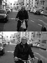 [La Mia Citt][Pedala] (Urca) Tags: milano italia 2016 bicicletta pedalare ciclista ritrattostradale portrait dittico bike bicycle biancoenero blackandwhite bn bw 872123 nikondigitale mir