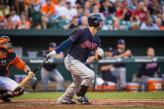 Cleveland Indians '16 (R24KBerg Photos) Tags: baltimore camdenyards mlb majorleagues sports baseball field americanleague aleast alcentral tribe indians clevelandindians chiefwahoo cleveland ohio lonniechisenhall pcc pittcommunitycollege pittcc 2016