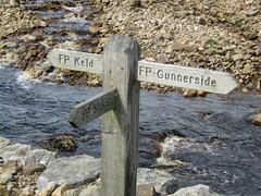 Keld & Muker 8.8.2016 (12) (bebopalieuday) Tags: yorkshiredales swaledale riverswale rampsholmebridge muker fingerpost signpost northyorkshire