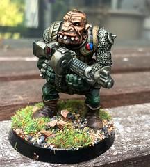 Rogue Trader era Ogryn (Carjohrud) Tags: citadelminiatures gamesworkshop roguetrader warhammer40k abhuman oldhammer astramilitarum imperialguard ogryn