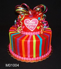 M01004 (merrittsbakery) Tags: cake tiered ribbon holiday seasonal valentine valentinesday