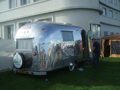 Shiny! (Bennydorm) Tags: shiny caravan mobilehome metal dwelling livingspace lancashire england britain uk europe reflection morecambe