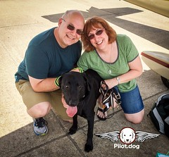 Here is Steve and Pam of Pilot.dog on a recent flight with Vixen. Join the team and play a role in saving the lives of dogs, one flight at a time. Go to http://ift.tt/2bjImHf #pilotdog (Pilot.Dog) Tags: pilotdog pilot dog rescue dogs aviation