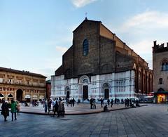 Bologna - Basilica di San Petronio (Martin M. Miles) Tags: bologna basilicadisanpetronio sanpetronio piazzamaggiore gothic emiliaromagna italy