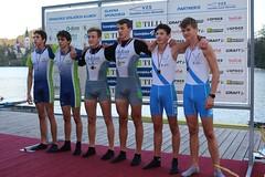 Dvojni dvojec - Pionirji (MilanKne) Tags: drzavno prvenstvo v veslanju bled slovenija rowing gracejernej asjure vkdemmaribor magajna abe kozjek nejc vk ljubljanica kravuk semen babi matija