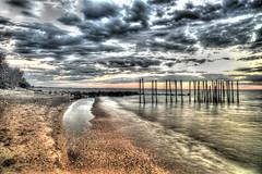 Sandy Hook HDR (Greg B Photography) Tags: platinumheartaward beach sandyhook lakewinnipeg sunrise